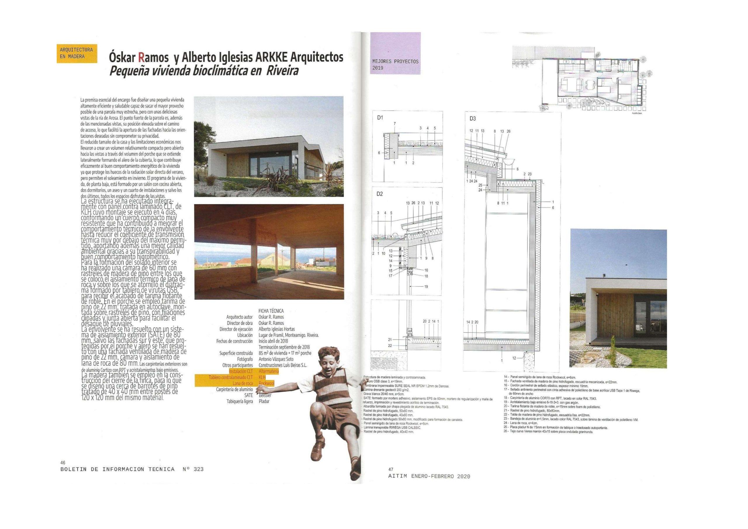 Bewood en Riveira, publicada en AITIM